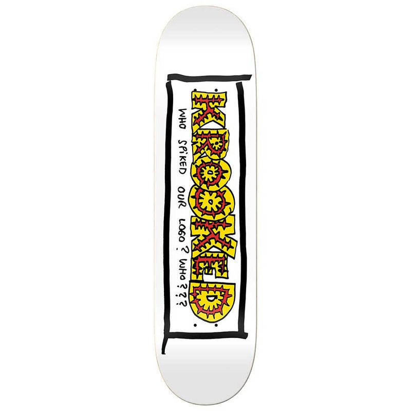 Krooked Deck Team Spiked 8.25""