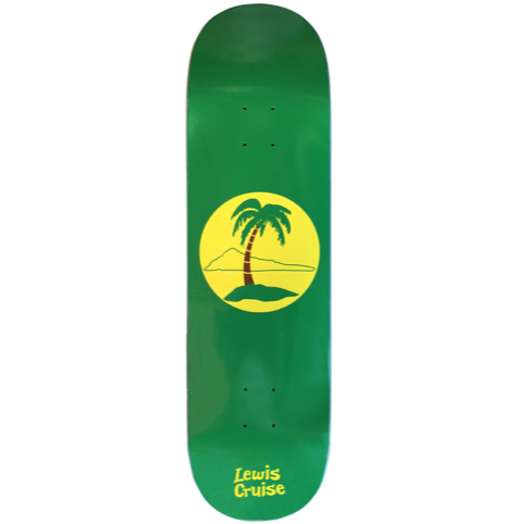 Lewis Cruise Deck Island Green 8.5""