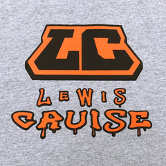 Lewis Cruise T-Shirt Natty Kon Grey