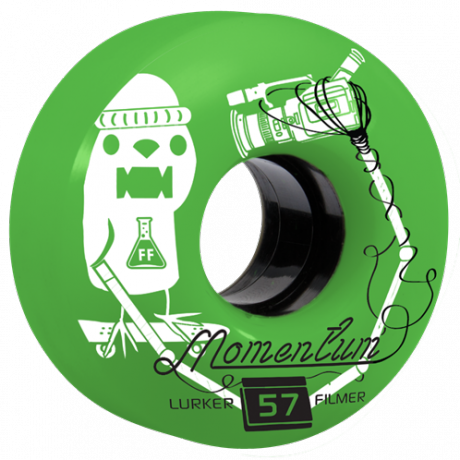 Momentum Wheels Lurker Filmer Green 57mm