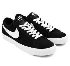 Nike SB Blazer Zoom Low Black/White-Gum Light Brown