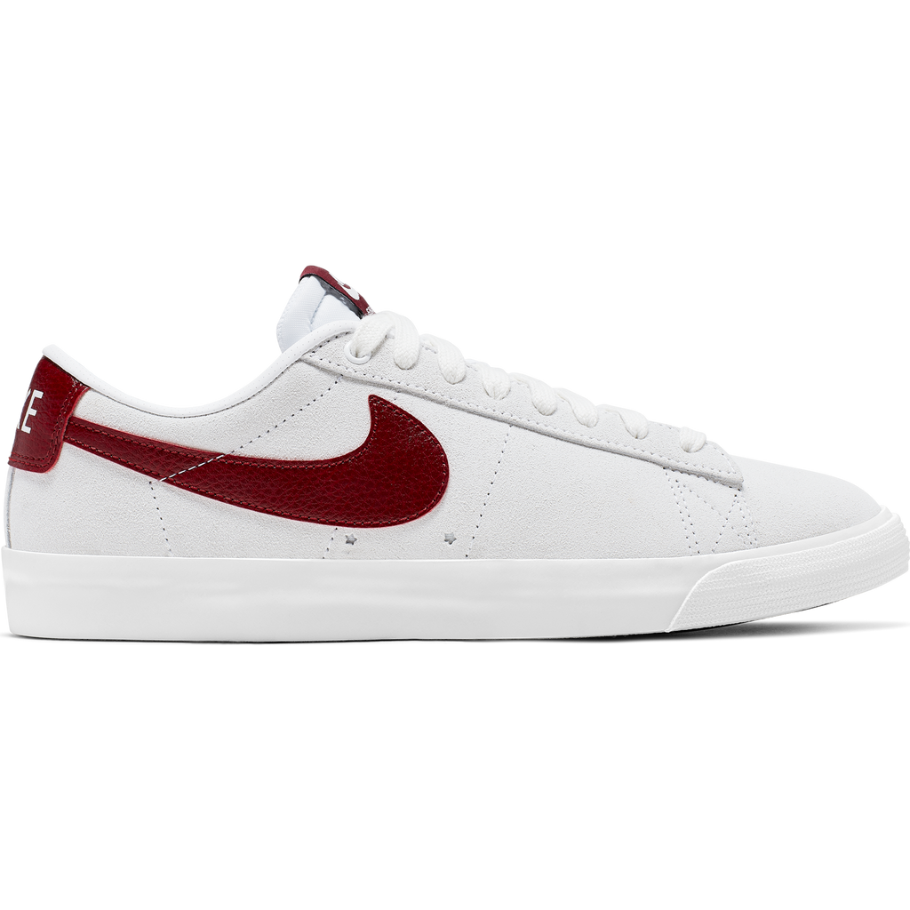 Nike SB Zoom Blazer Low GT White/Team Red-Summit White