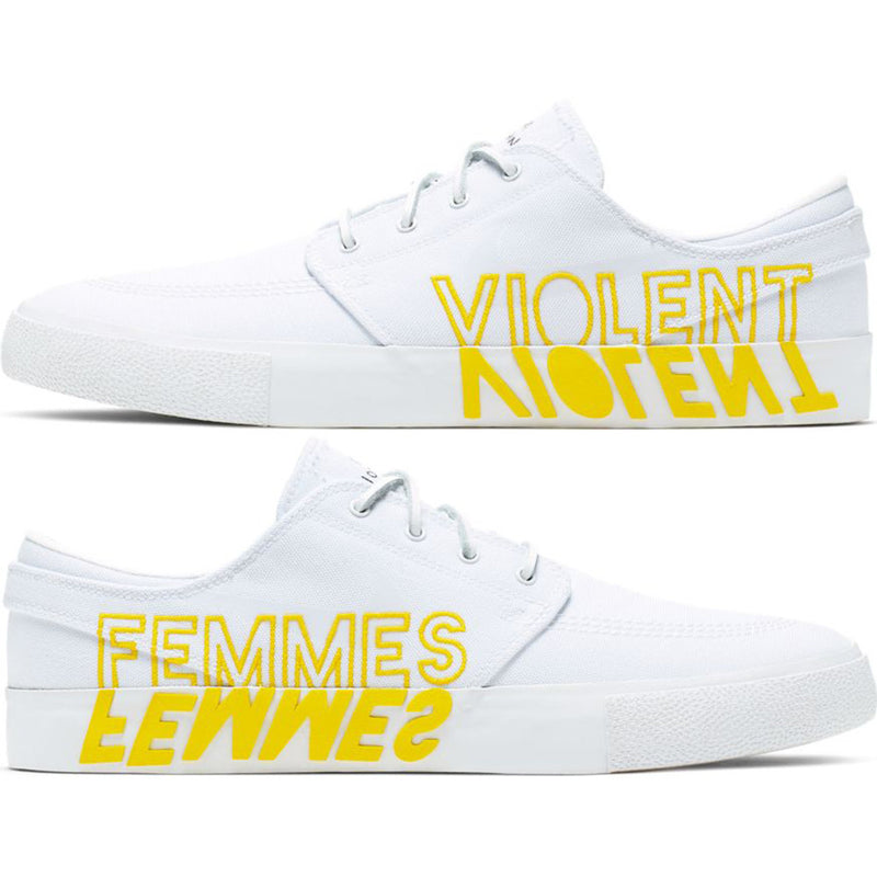 "Nike SB Zoom Janoski RM QS ""Violent Femmes"" White/Clear-White-Tour Yellow"