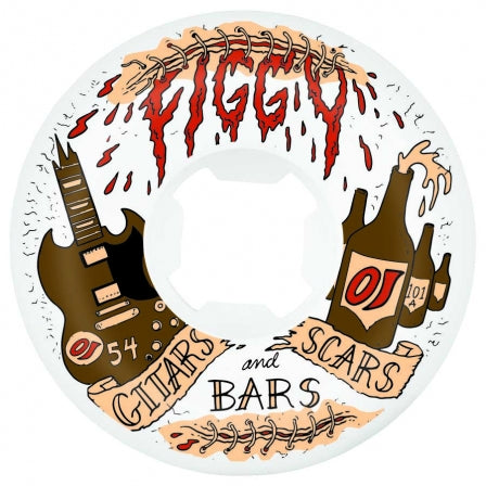 OJ Wheels Figgy Guitars Scars & Bars Original 54mm 101a