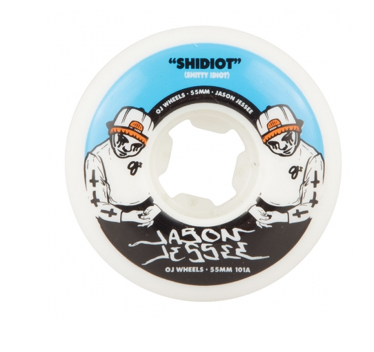 OJ Wheels Jessee Shidiot EZ Edge Insaneathane 55mm