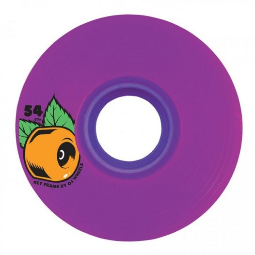 OJ Wheels Keyframe Purple 54mm 78a