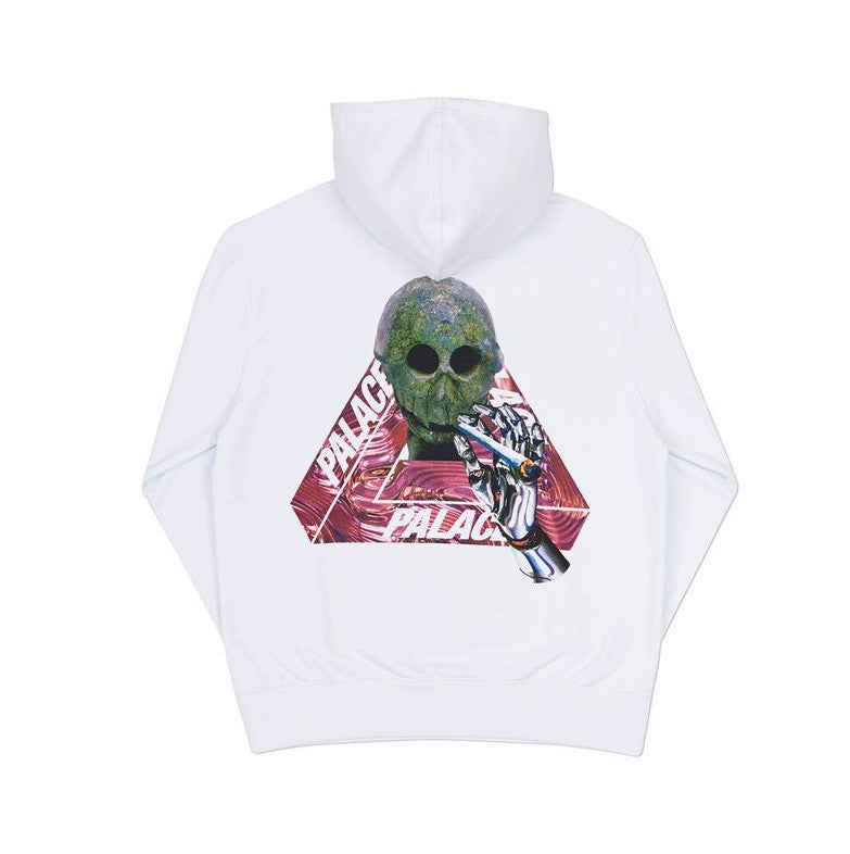 Palace Hood Skeledon White