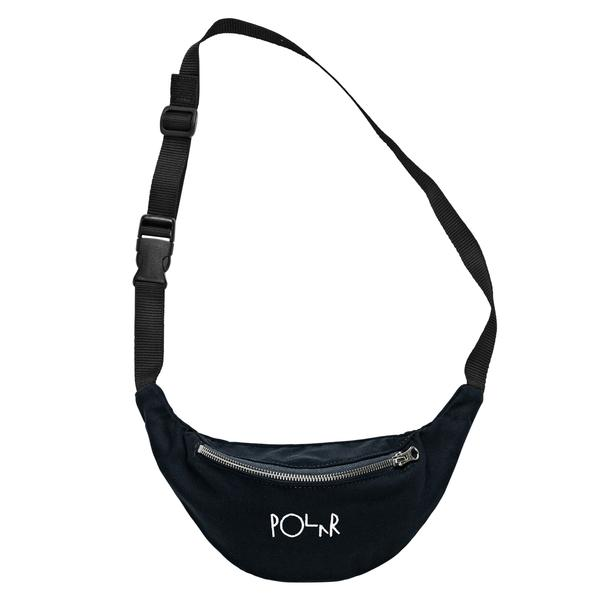 Polar Hip Bag Script Logo Black