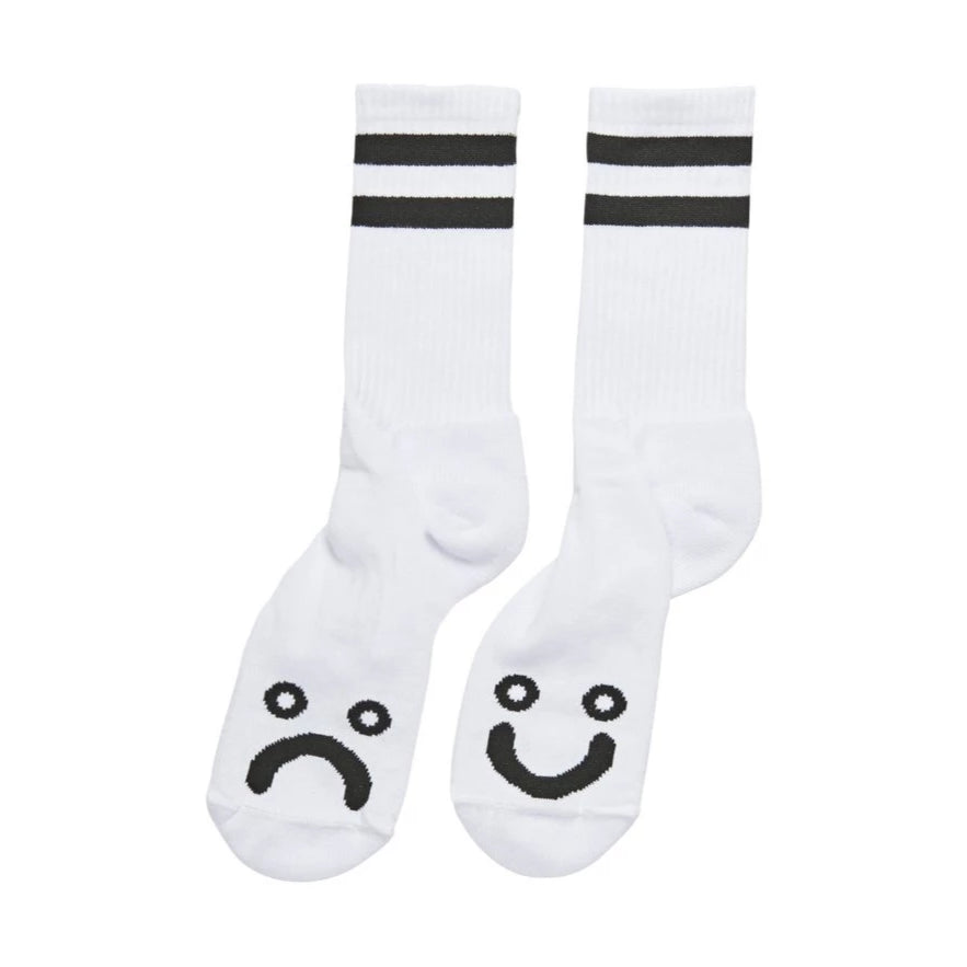 Polar Socks Happy Sad White/Black