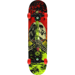 Powell Peralta Complete Skull & Sword Storm Red/Lime 7.5""