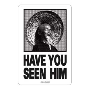 Powell Peralta Sticker Have You Seen Him