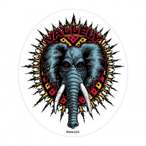 Powell Peralta Sticker Vallely Elephant