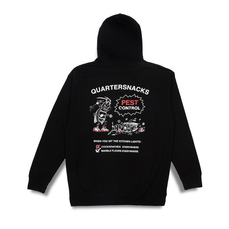 Quartersnacks T-Shirt Divorce Black