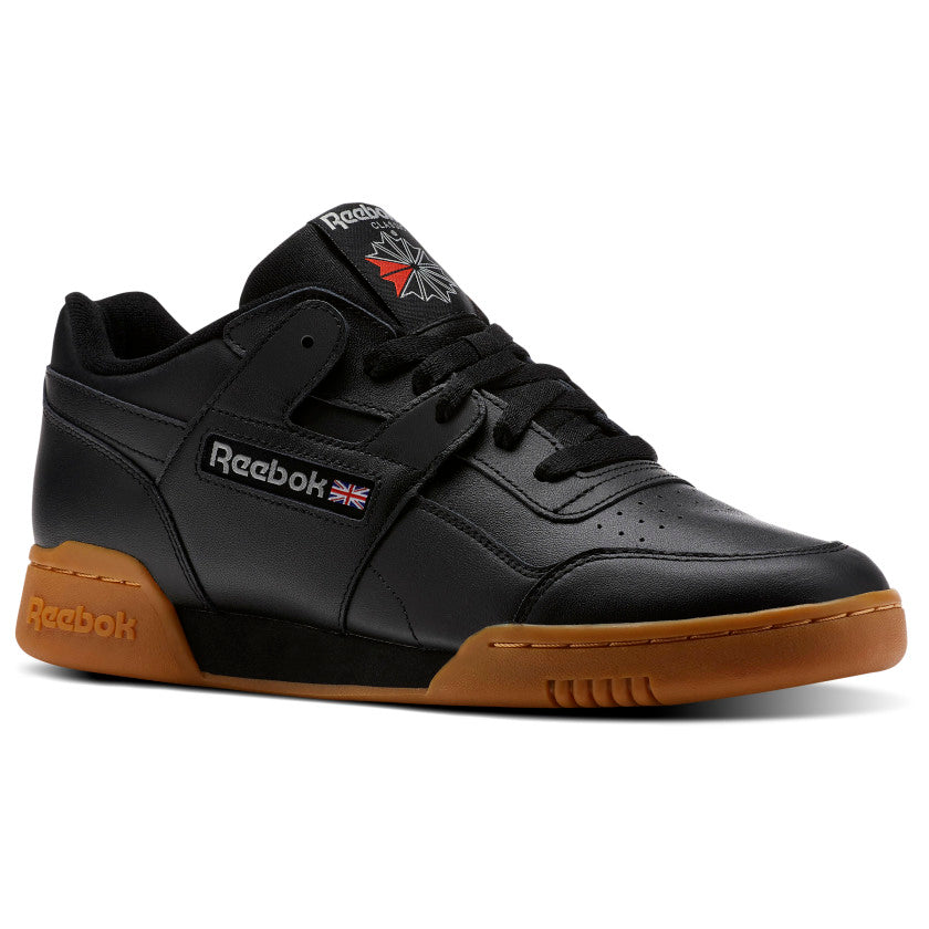 Reebok Workout Plus Black / Carbon / Classic Red