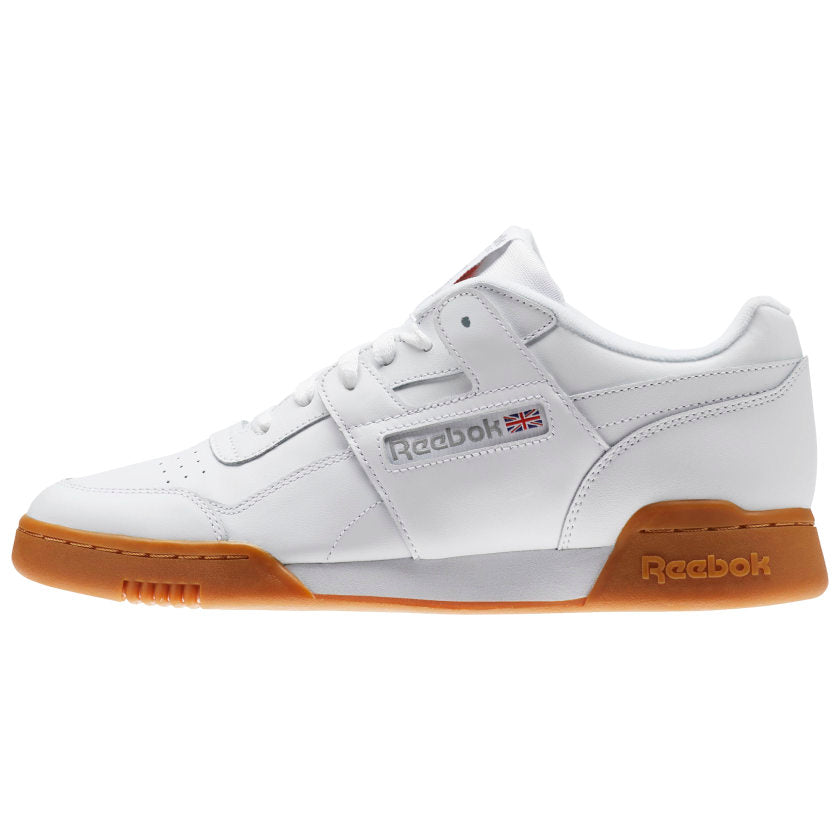 Reebok Workout Plus White / Carbon / Classic Red