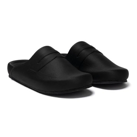 Rone Loafer Mule Black