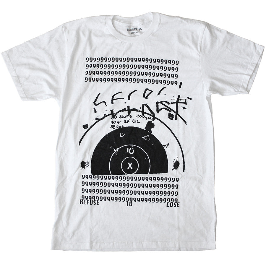 Secret 99 T-Shirt Shooter White