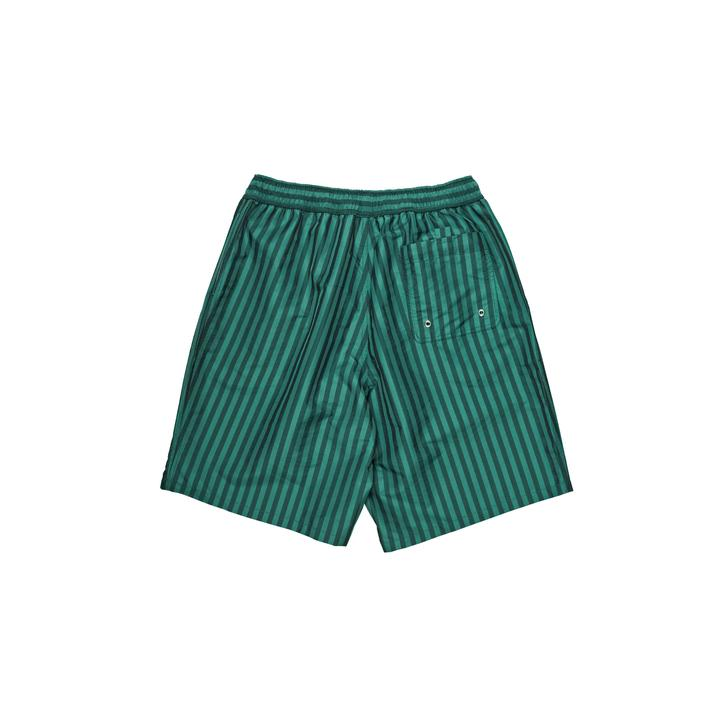 Polar Swim Shorts Stripe Dark Green