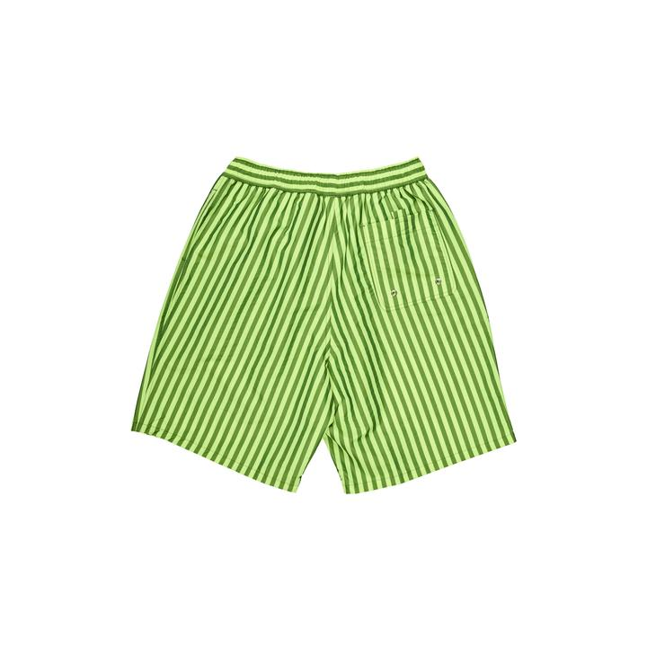 Polar Swim Shorts Stripe Neon Yellow