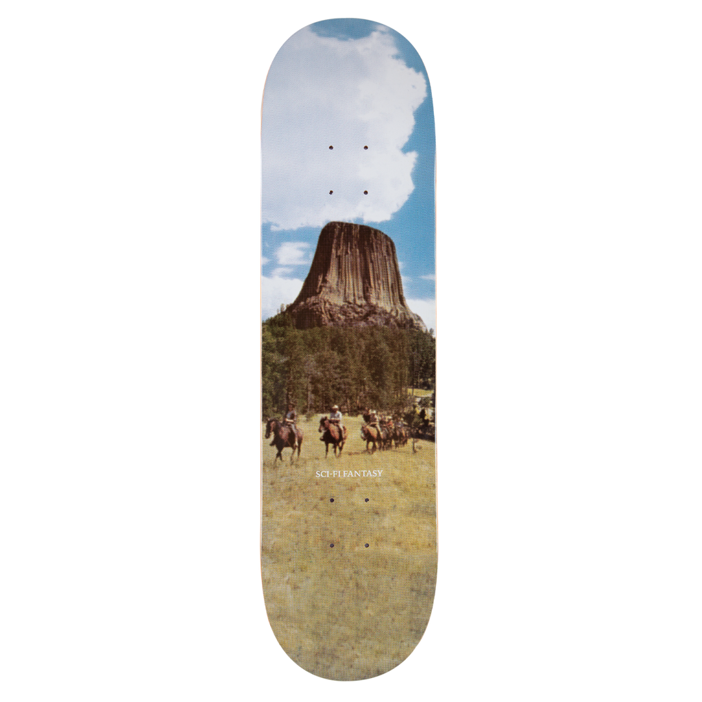 Sci-Fi Fantasy Deck Devils Tower 8.38""