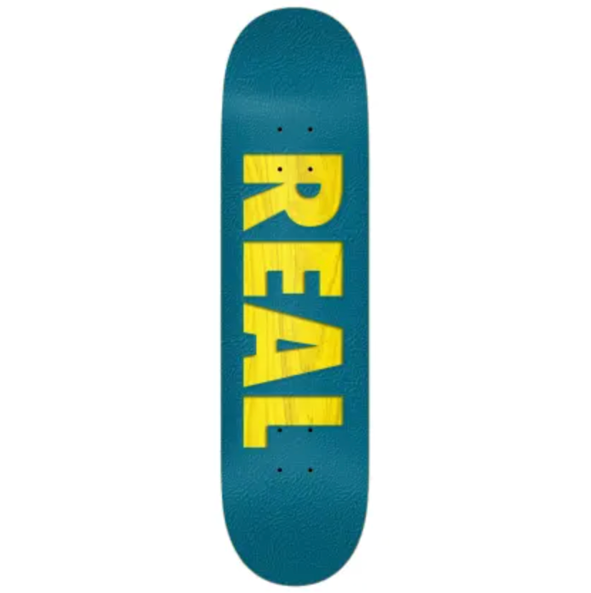 Real Deck Bold Series Blue 8.25""
