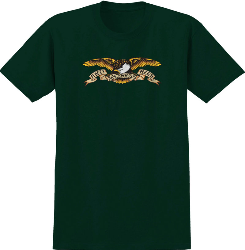 Anti Hero T-Shirt Eagle Forest Green
