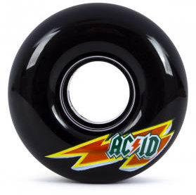 ACID Chemical Co Cruiser Wheels Skaterade Black 54mm 86a