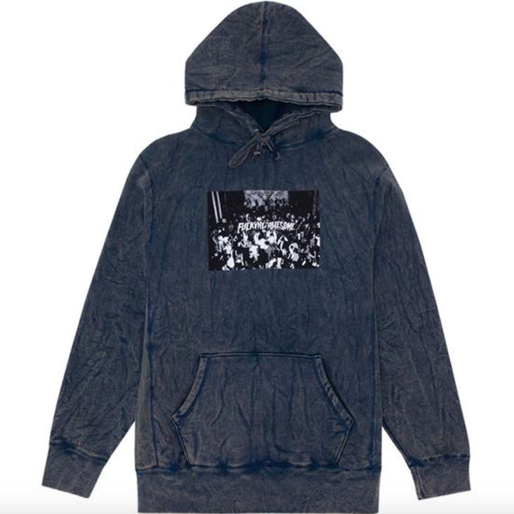 Fucking Awesome Club Hoodie Mineral Navy