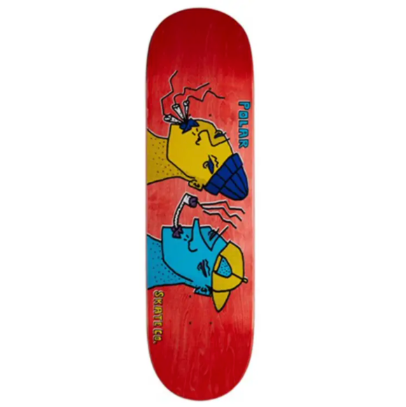 Polar Deck Smoking Faces 8.125""