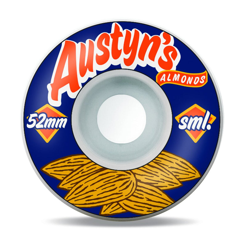 Sml Wheels Gillette Austyn's Almonds 52mm