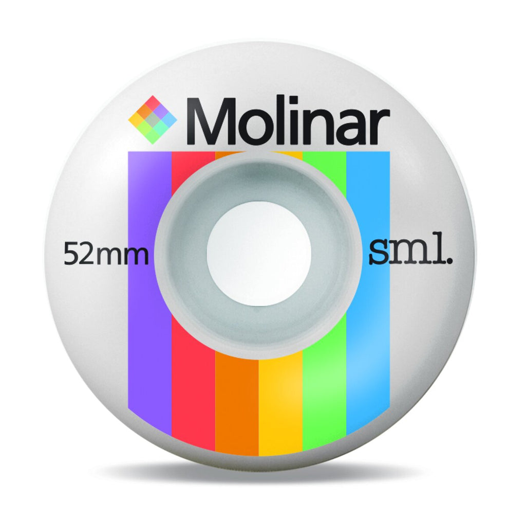 Sml Wheels Molinar Classic Series Polaroids 52mm