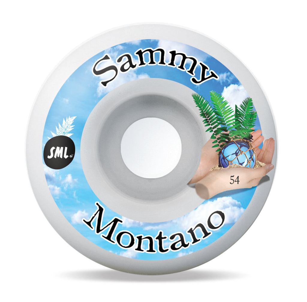 Sml Wheels Montano Tide Pool 54mm