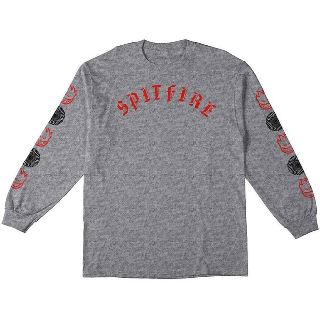 Spitfire Long Sleeve T-Shirt Olde Combo Athletic Heather