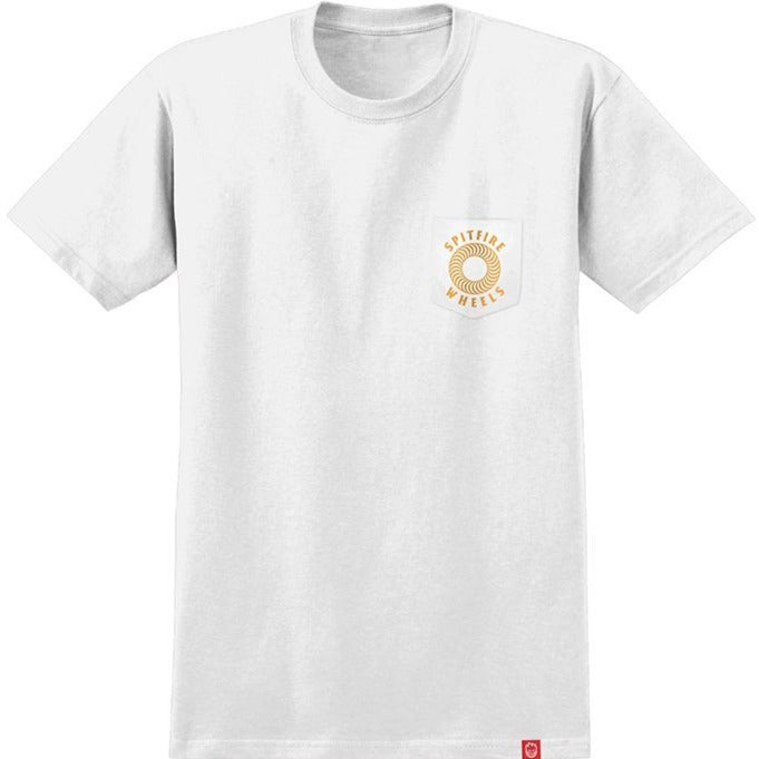 Spitfire T-Shirt Hollow Classic Pocket White