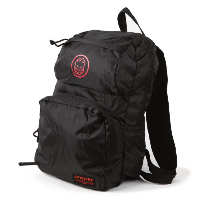 Spitfire Backpack Bighead Circle Packable Black/Red