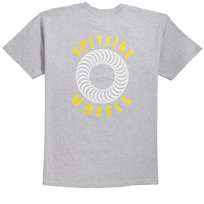Spitfire T-Shirt OG Classic Double Athletic Heather/Yellow
