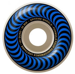 Spitfire Wheels F4 Classic Blue 56mm 101D