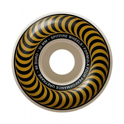 Spitfire Wheels F4 Classic Bronze 50mm 101D