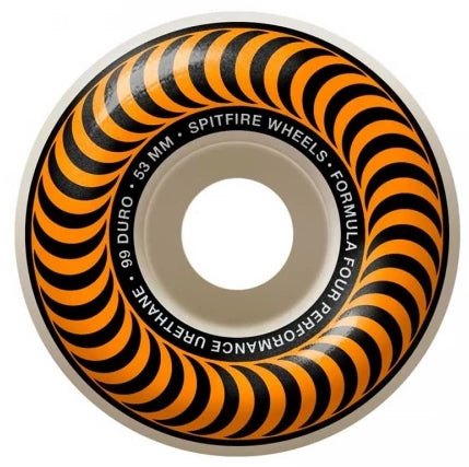 Spitfire Wheels F4 Classic Orange 53mm 99D