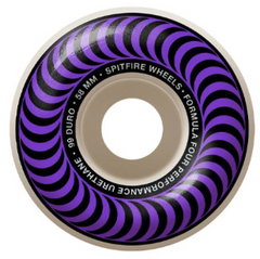 Spitfire Wheels F4 Classic Purple 58mm 99D