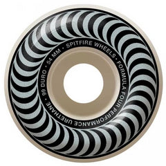 Spitfire Wheels F4 Classic Silver 54mm 101D