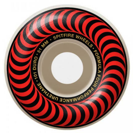 Spitfire Wheels F4 Classic Red 51mm 99D