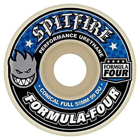 Spitfire Wheels Formula Four Conical Full 58mm 99D