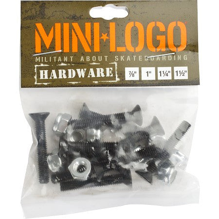 Mini Logo Hardware 1 1/4 inch, phillips