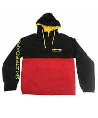 Thrasher Jacket Mag Logo Anorak Black/Red