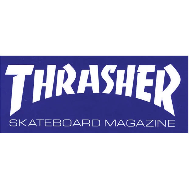 Thrasher Sticker Mag Logo Blue