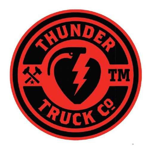Thunder Sticker Mainliner Black/Red