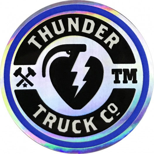 Thunder Sticker Mainliner Silver/Blue