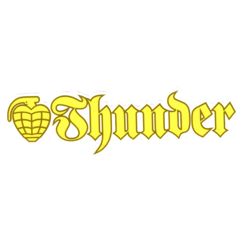Thunder Sticker OG Strip Yellow