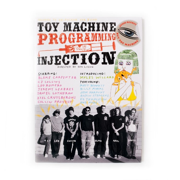 Toy Machine Programming Injection DVD
